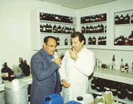 Gary Young and Dr. Radwan Farag