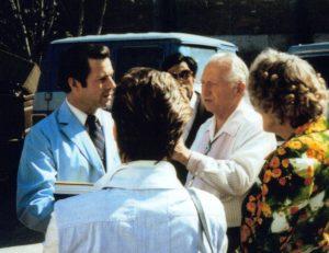 Gary Young at Rosarita Beach Clinic in Mexico