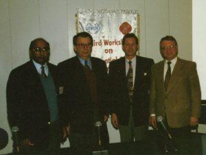 Gary Young and Dr. Baser at UNIDO
