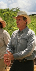 Gary Young in Ecuador