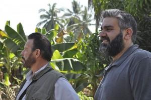 Gary and Mahmoud Suhail