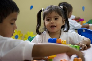 children at the Young Living Academy in Ecuador