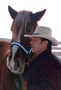 Gary Young with horse