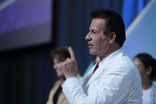 Gary Young speaking at the Raindrop seminar