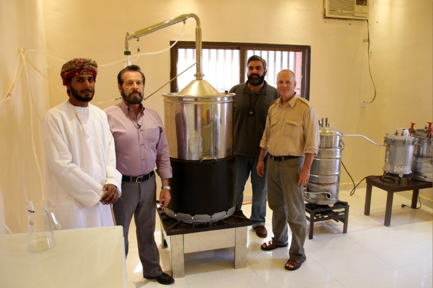 In 2010 Gary secured Young Living's first distiller in Salalah, Oman.