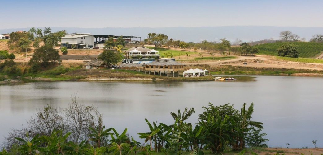 Young Living farm, distillery, and spa in Chongon (Guayaquil), Ecuador.