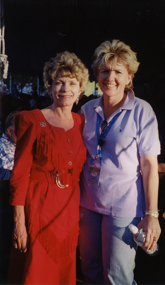 Mary and Vonn Harting, 2001.