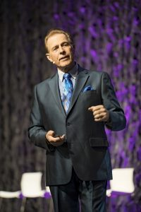 Gary Young on stage at Young Living Convention