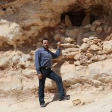 Gary Young at Wadi Anhur
